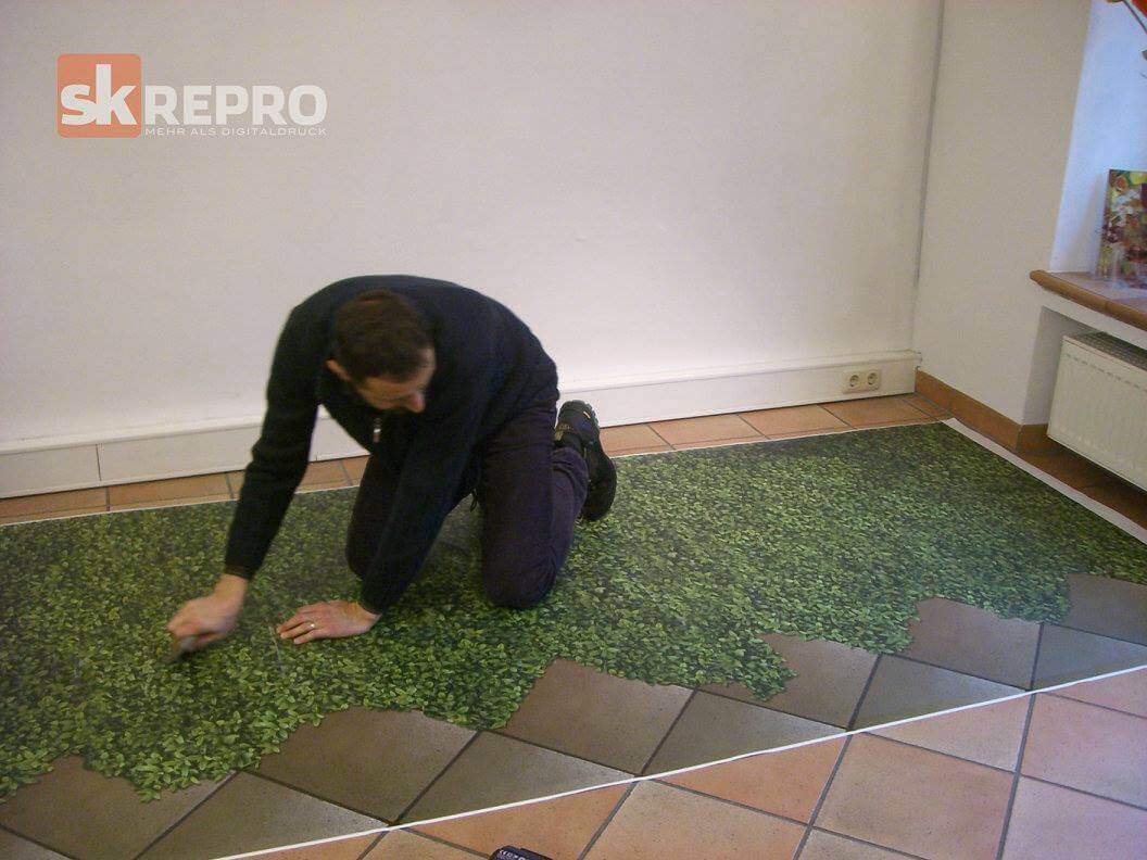 Fußboden Mit 3d Effekt ~ Fußboden aufpeppen mit floor grafik sk repro