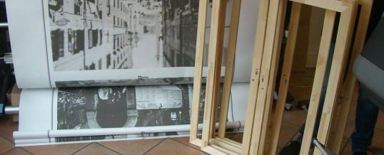 """Leinwanddruck für die Ausstellung """"Benvenuto in Italia"""""""