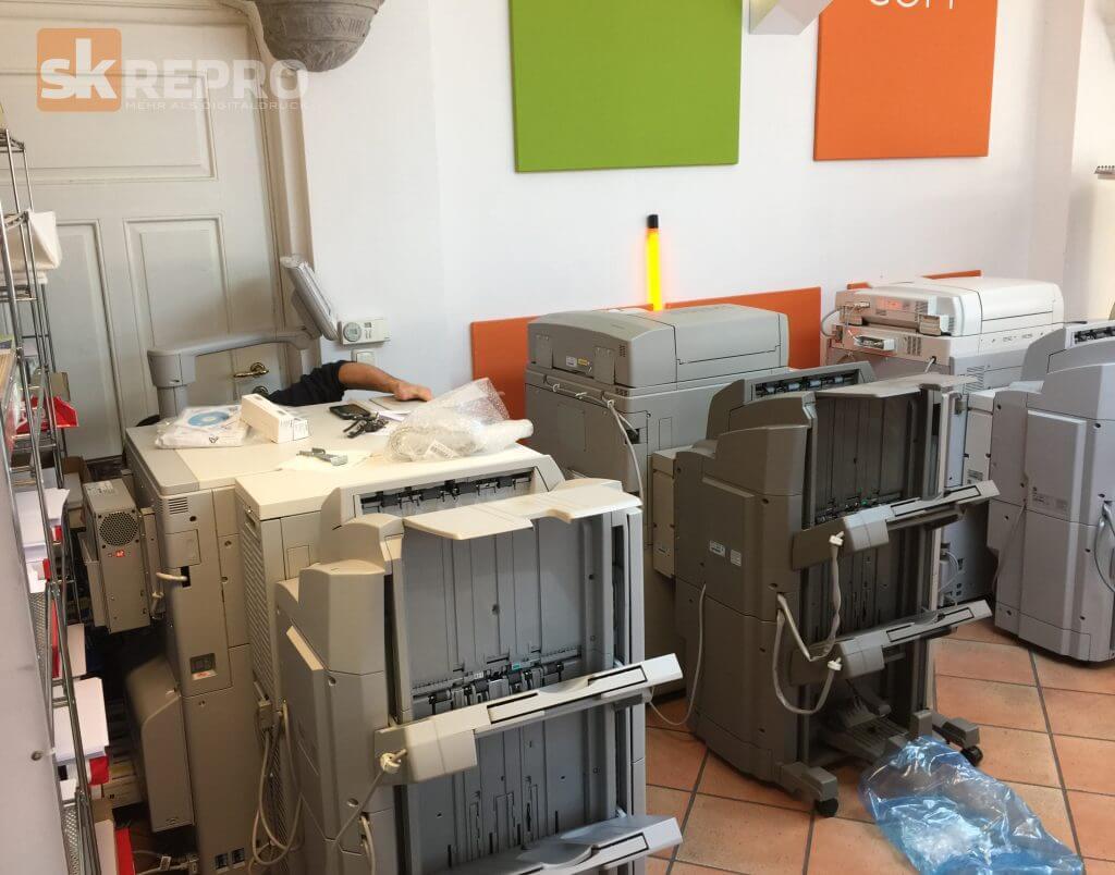 IMG 2951 1024x804 - Unsere neue Druckmaschine die Canon imagePRESS