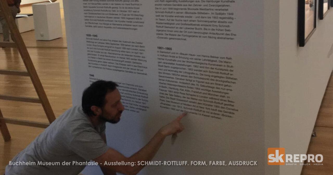 SK Facebook2 - Klebearbeiten im Buchheim Museum der Phantasie <br />  SCHMIDT-ROTTLUFF. FORM, FARBE, AUSDRUCK